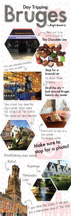 Day Tripping: Bruges, Belgium Another guide to a day in Belgium. I really suggest using one of these when searching for things to do. Oh The Places You'll Go, Places To Travel, Travel Destinations, Places To Visit, European Vacation, European Travel, Voyage Europe, Amsterdam Travel, Brussels Belgium