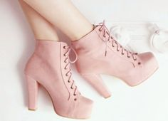 New heels shoes pink boots 30 Ideas Pink Boots, Pink Heels, Shoes Heels, Kawaii Shoes, Cute Boots, Dream Shoes, Beautiful Shoes, Me Too Shoes, Heeled Boots