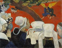 Paul Gauguin, 'La Vision du sermon (Vision of the Sermon),' 1888, Fondation Beyeler