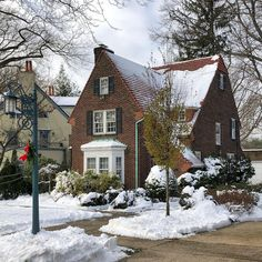 """Forest Hills Gardens's Instagram post: """"The houses and street lamps are all beautiful here. #foresthillsgardens #foresthillsgardensny #savingplaces #nychomes #houseportrait…"""" Forest Hills Gardens, Garden On A Hill, Cottage Style Homes, Street Lamp, Cottages, Lamps, Nyc, Houses, Exterior"""