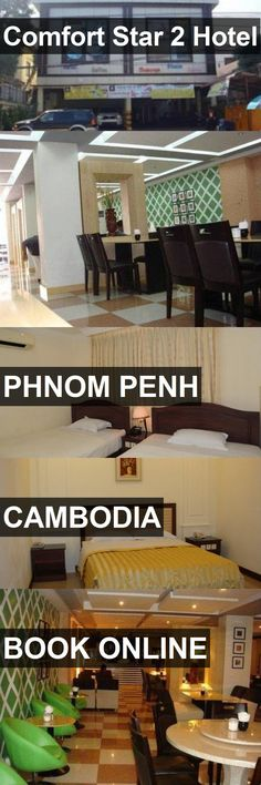 Comfort Star 2 Hotel in Phnom Penh, Cambodia. For more information, photos, reviews and best prices please follow the link. #Cambodia #PhnomPenh #travel #vacation #hotel