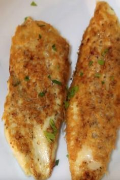 My family loves this flavorful crispy chicken, it will be going into our regular rotation. Easy Healthy Dinners, Healthy Dinner Recipes, Vegetarian Recipes, Snack Recipes, Cooking Recipes, Easy Recipes, Snacks, Baked Parmesan Crusted Chicken, Crispy Chicken