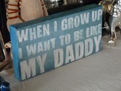 Candace Creations: Baby Boy Room Decor - Canvas Sign