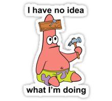 No Idea Patrick Sticker