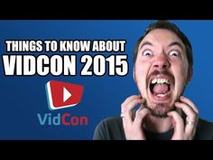 TIPS FOR ATTENDING HUGE LIVE EVENTS | ▶ I'M GOING TO VIDCON 2015! (Here's some advice to enjoy it more) - YouTube