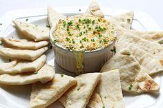 Three cheese & artichoke dip