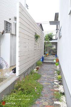Patio, Backyard, Small Garden Plans, Garden Works, My Ideal Home, Side Garden, Cute House, Outdoor Living, Outdoor Decor