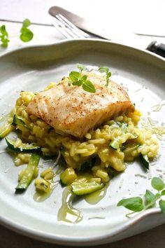 Pannestekt torsk med squashrisotto | Spiselandslaget