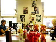 . . . my green haven: Glaskunst in Novy Bor - Glasbearbeitung