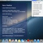 Nano Weather, precisa información meteorológica en tu Mac