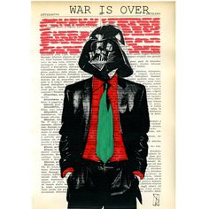 Star Wars Art  Illustration Mixed Media Hand by VincenzoRizzo, $9.00