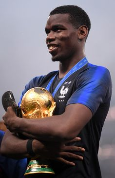 Paul Pogba France Pictures and Photos Pogba France, World Cup Trophy, Messi And Ronaldo, Brighton & Hove Albion, Paul Pogba, France Photos, World Cup Final, Premier League Matches, Fifa World Cup