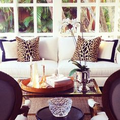 animal print furniture home decor - My Web Value Living Room Photos, My Living Room, Home And Living, Living Room Decor, Small Living, Living Area, Beige Couch, Living Room Inspiration, Home Decor Inspiration
