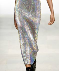 Maxi from Danielle scut s/s 2012 - holographic inspiration