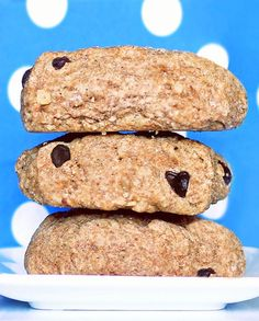 These are healthy enough that you can eat them for breakfast. Who could say no to chocolate-chip biscuits for breakfast?