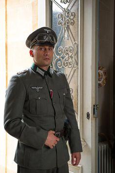 Matthias Schoenaerts en Suite Francaise as Commander Bruno von Falk.