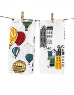 Danica Studio Panorama Pair of Tea Towels