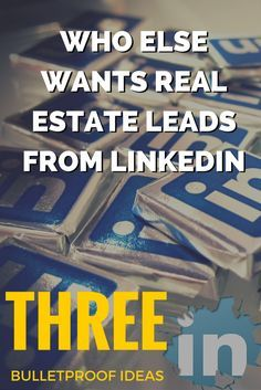 Want real estate leads from LinkedIn? Here are 3 bulletproof ideas for generating more leads every single month from LinkedIn: Best Picture For home selling design For Your Tast Real Estate Career, Real Estate Leads, Real Estate Business, Real Estate Investor, Selling Real Estate, Real Estate Tips, Real Estate Sales, Marketing Plan, Real Estate Marketing
