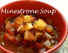Luci's Morsels | Minestrone Soup