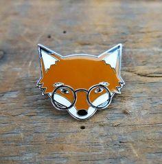 'Mr. Fox' Pin