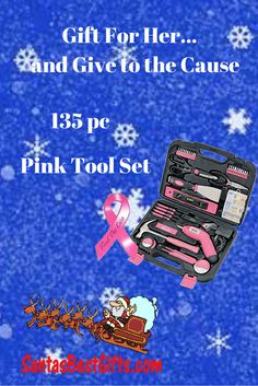 Useful gift for female homeowners, or those wanting to tackle diy projects.these are full size, useful tools for all projects Mother Christmas Gifts, Mother Gifts, Tool Set, Gifts For Her, Best Gifts, Diy Projects, Handmade Crafts, Diy Crafts
