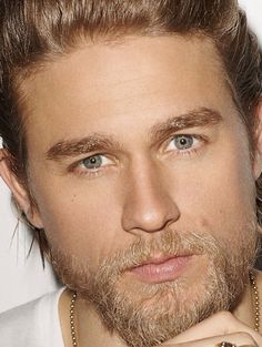 Close-up of Charlie Hunnam.