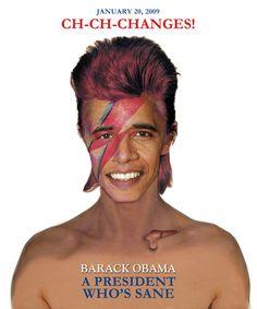 Barack Obama, a President Who's Sane - T-shirt