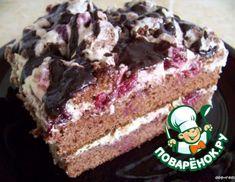 Рецепт: Торт Вишневый поцелуй