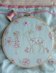 Embroidery pattern Hand embroidery design от TamarNahirYanai