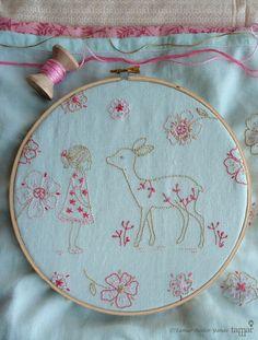 Embroidery pattern Hand embroidery design от TamarNahirYanai