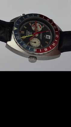A rare and highly collectable example of the Heuer Autavia GMT Ref. 11630. Unlike the majority of Autavia ref. 11630's that come to market, this example features the original dial and hands, a beautifully aged Pepsi bezel, an unpolished case in exceptional condition and a fully serviced movement. If you're looking for a collector's piece you'll be hard pushed to find a better example than this.