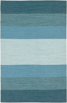 Blue Ombre India Rug for play room
