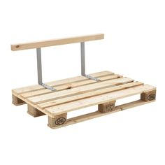 Backrest for Euro-pallet sofa solid wood look DIY furniture, Pallet Cushions, Pallet Lounge, Pallet Stool, Euro Pallets, Wood Pallets, Canapé Diy, Decoration Palette, Palette Diy, Diy Couch