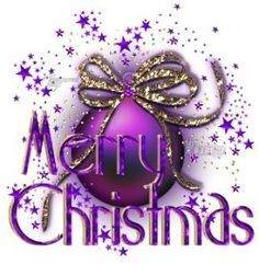 Merry Purple  Christmas                                                       …