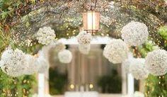 Resultado de imagem para decoração de casamento simples COM VELAS E LUZES