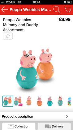 Peppa weeble stuff