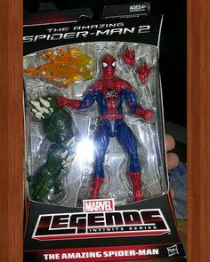 #Marvel #Legends #The #Amazing #spiderman  #2  #Hasbro #actionfigures #action #figures #figuras #ação #heróis #Heroes #comics #Quadrinhos #avengers #vingadores #toys