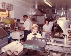 A look inside Sonic in the early 70's