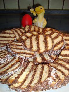 Csigabige kuckója: Albert kekszes szelet - Kellemes húsvéti ünnepeket! Waffles, French Toast, Food And Drink, Breakfast, Christmas, Morning Coffee, Yule, Xmas, Christmas Movies