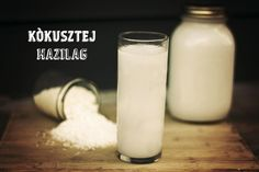 Kókusztej házilag • A Paleolit Diétáról A-tól Z-ig