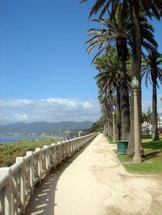 Palisades Park above Neenis Beach, Malibu, CA