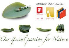 Season serving dish. Set 4 pieces. L 21,5 cm x La 31 cm. Designer: Nao Tamura for COVO http://bit.ly/1AzUHal #table #friends #meal #dinner #food #design #elegance