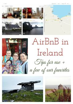 Tips for Using AirBnB in Ireland + a few of our favorite AirBnB lodgings. Ireland travel tips | Ireland vacation | IrelandFamilyVacations.com