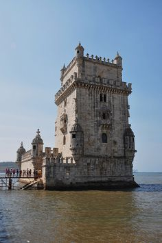 Belem Tower on The River Tagus ~ Lisbon, Portugal