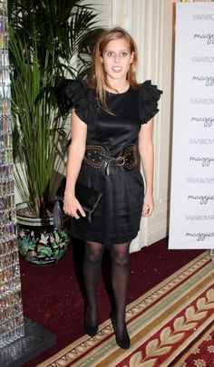 Princess Beatrice attends the Maggie's Autumn Party supported by Swarovski at the Mandarin Oriental Hyde Park on October 9, 2012