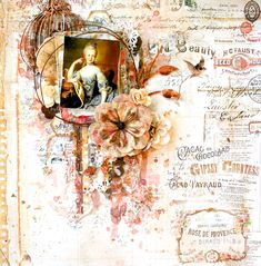 2 Crafty Chipboard : Search results for viney page frame Scrapbooking Layouts, Scrapbook Pages, Page Frames, General Crafts, Layout Inspiration, Chipboard, Altered Books, Mixed Media, Lisa