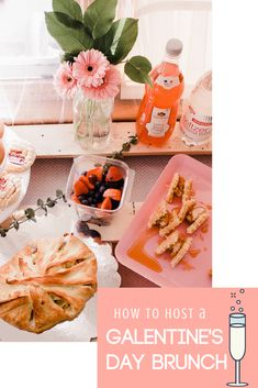 How to Host a Galentine's Day Brunch + Breakfast Crescent Bake Recipe with Hannaford Supermarket