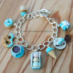 If Percy got Annabeth a charm bracelet, I'm sure it would look like this!!!!