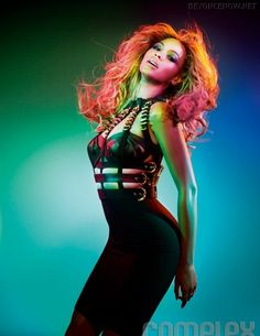 Beyonce shakes her hair out! #beyonce #hair