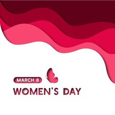 march 8,march,women's day,paper,design,pink,red,white,woman,ladies,girl,empower,event,celebrate,feminine,feminist,simple,modern,elegant Women's Day 8 March, 8th Of March, Icon Design, Paper Cut Design, Wooden Flowers, Creative Typography, Flower Lights, Wedding Background, Social Media Graphics